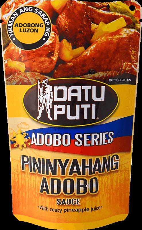 NutriAsia - Datu Puti Adobo Series: Pininyahan 180ml