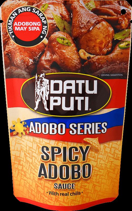 NutriAsia - Datu Puti Adobo Series: Spicy 180ml