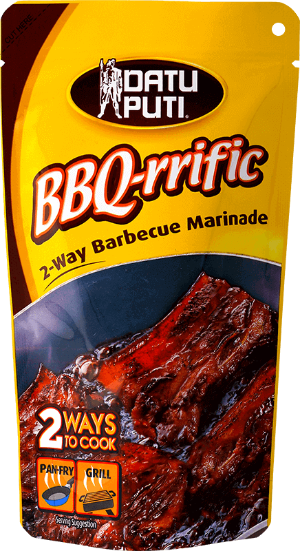NutriAsia - Datu Puti BBQ-Rrific Barbeque Marinade 144ml