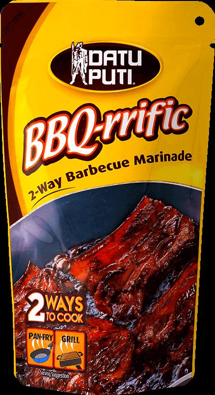 NutriAsia - Datu Puti BBQ-Rrific Barbeque Marinade 144ml
