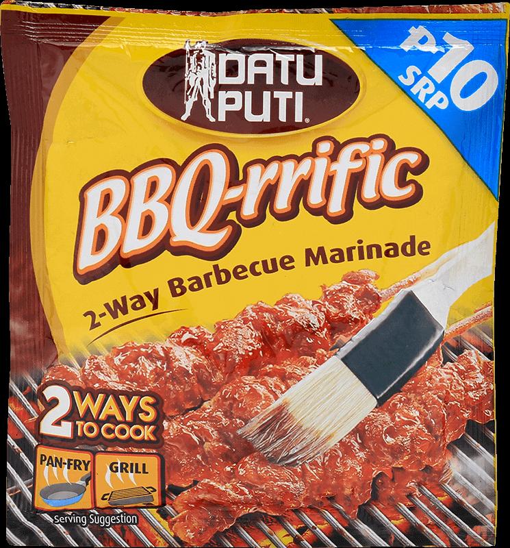 NutriAsia - Datu Puti BBQ-Rrific Barbeque Marinade 72ml
