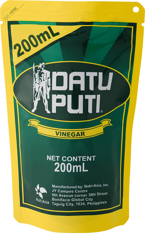 NutriAsia - Datu Puti White Vinegar 200ml