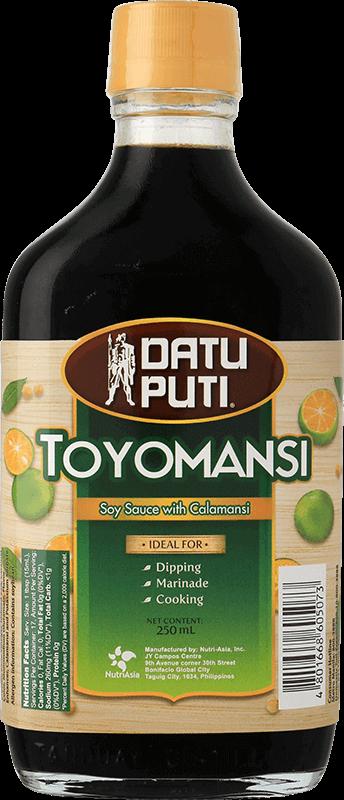 NutriAsia - Datu Puti Toyomansi 250ml