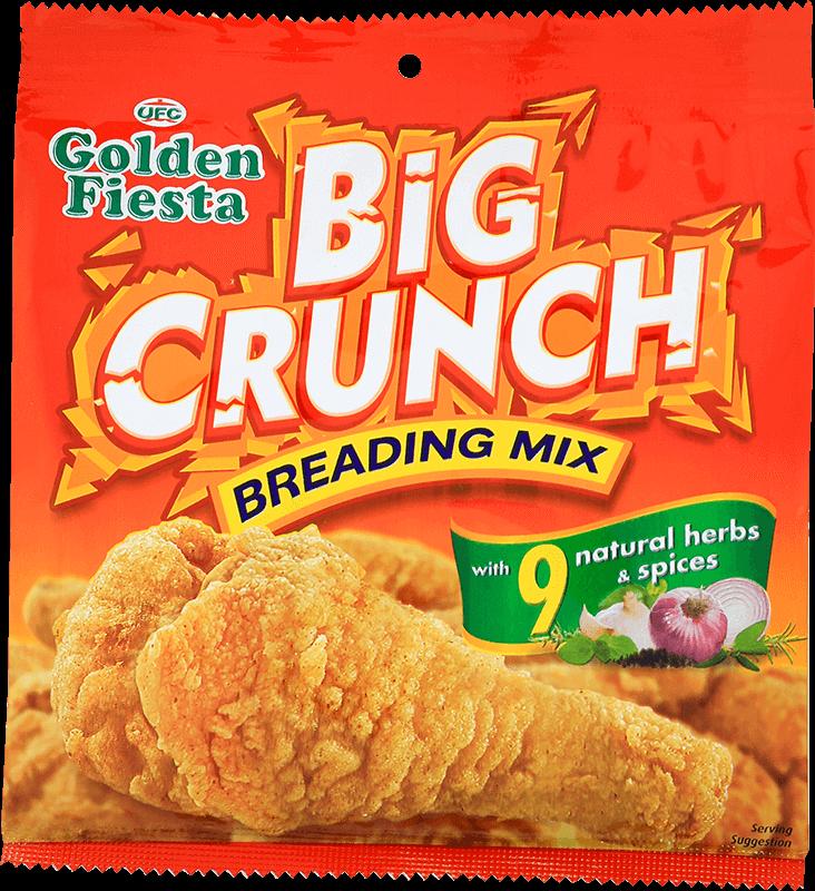 golden fiesta big crunch