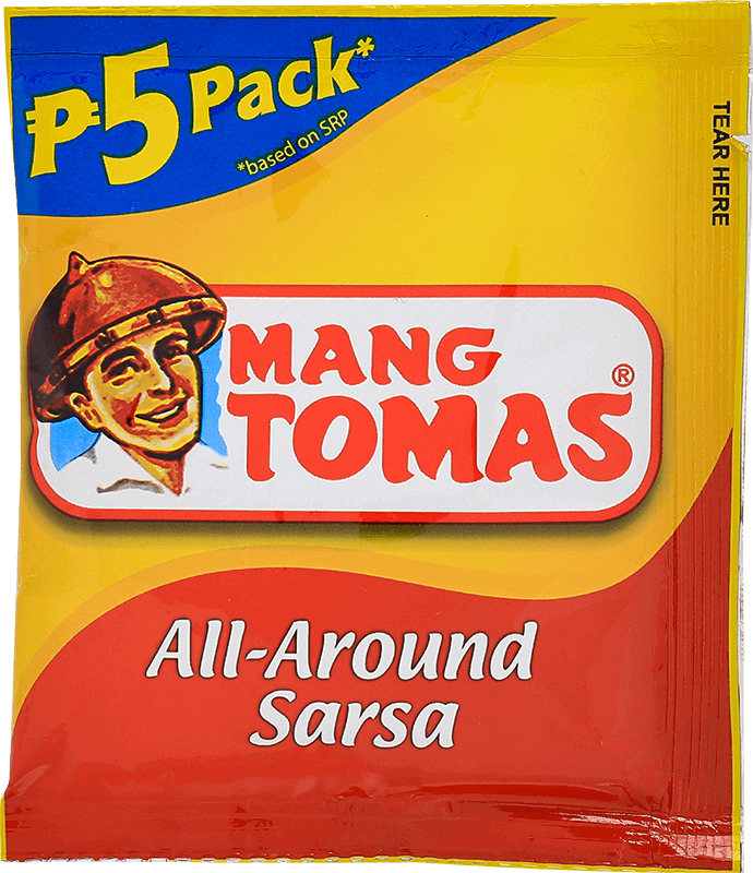 NutriAsia - Mang Tomas All Around Sarsa - Regular 40g