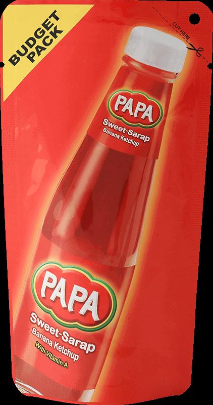 papa banana catsup