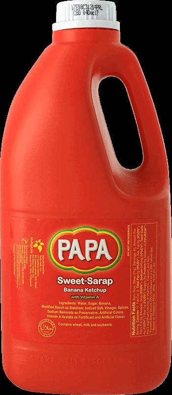 NutriAsia - Papa Sweet-Sarap Banana Catsup 2kg