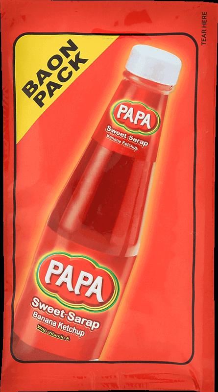 NutriAsia - Papa Sweet-Sarap Banana Catsup Baon Pack 25g