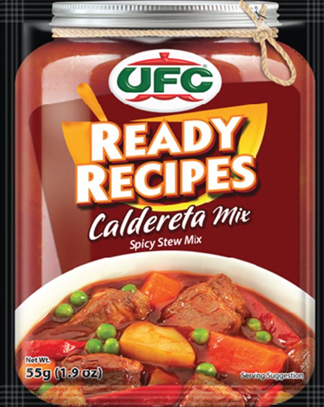 NutriAsia - UFC Ready Recipes Caldereta Mix 55g