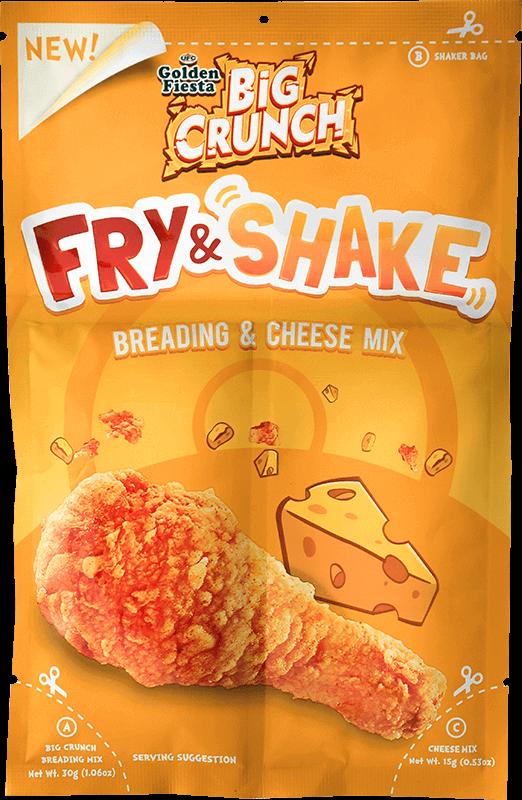 ufc golden fiesta big crunch fry shake cheese 30 g