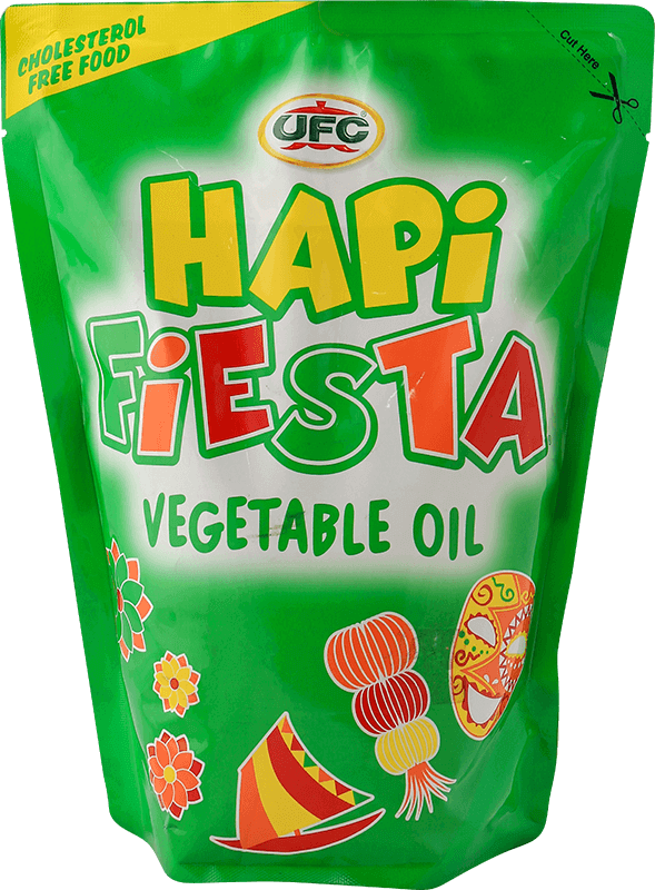 NutriAsia - UFC Hapi Fiesta Vegetable Oil 1L SUP