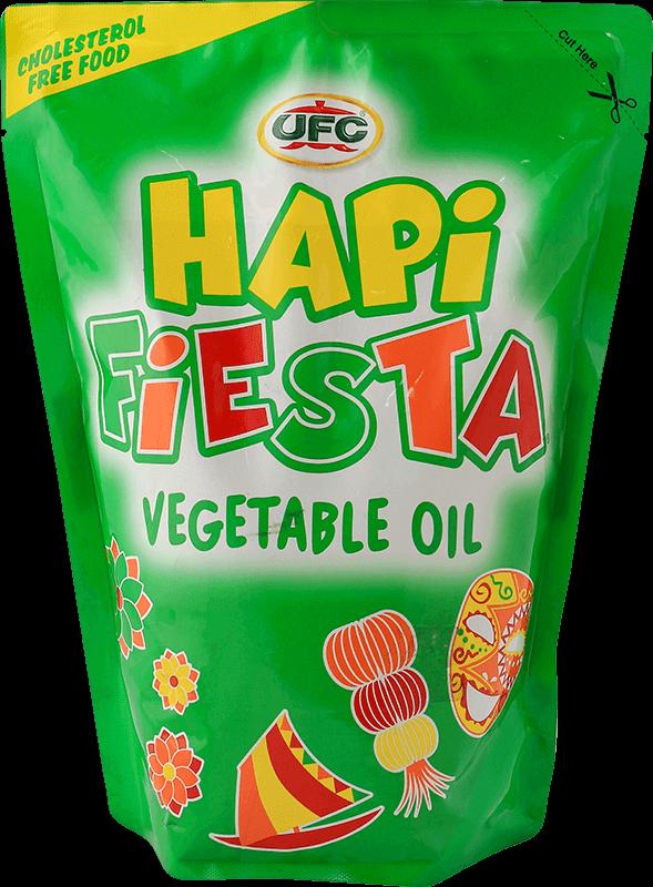 NutriAsia - UFC Hapi Fiesta Vegetable Oil 1L SUP