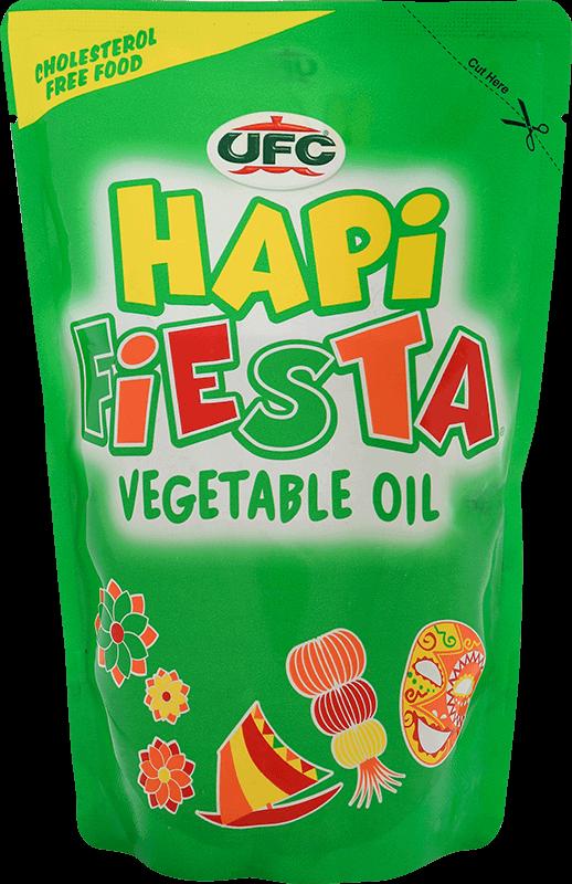 NutriAsia - UFC Hapi Fiesta Vegetable Oil 2L - SUP