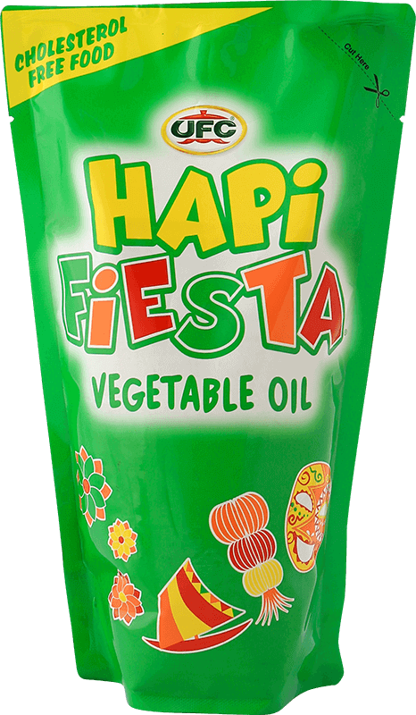 NutriAsia - UFC Hapi Fiesta Vegetable Oil 500ml
