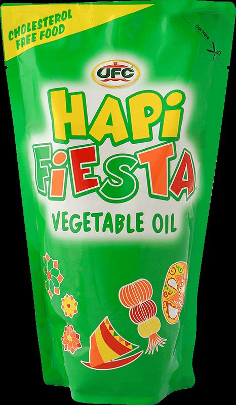 ufc hapi fiesta vegetable oil