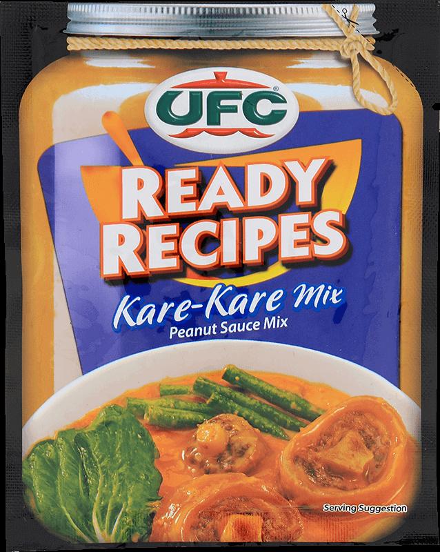 ufc ready recipes kare kare mix 45g