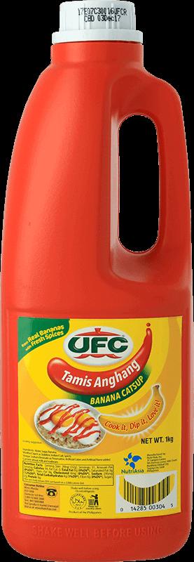 NutriAsia - UFC Tamis Anghang Banana Catsup Regular 1kg