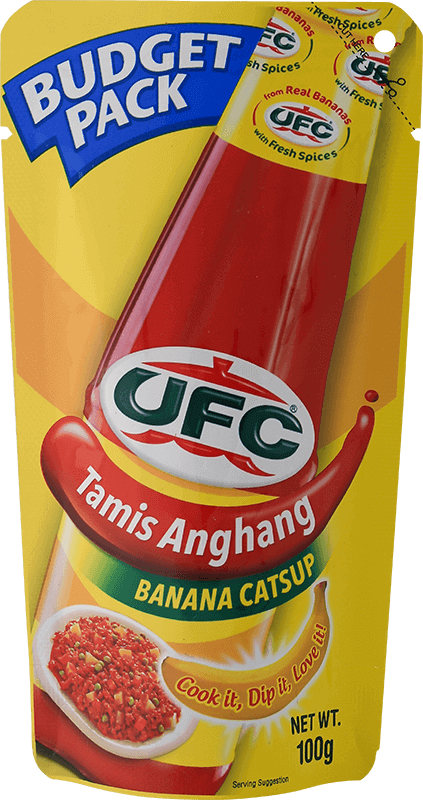 NutriAsia - UFC Tamis Anghang Banana Catsup Budget Pack 100g