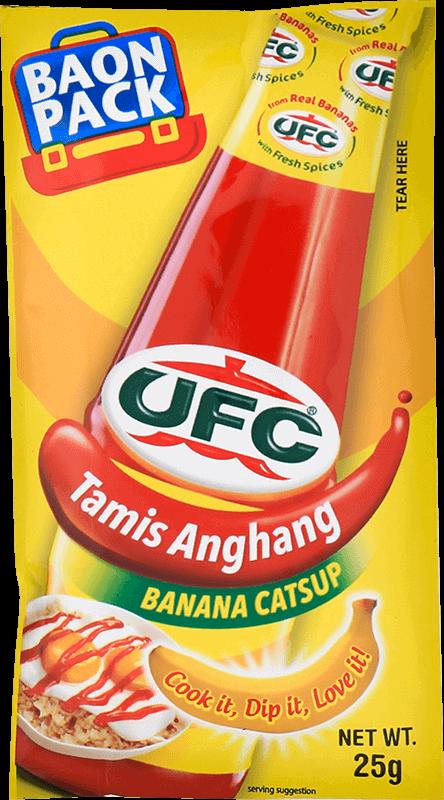 ufc tamis anghang banana catsup