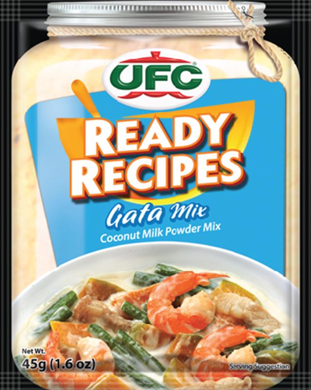 NutriAsia - UFC Ready Recipes Gata Mix 45g