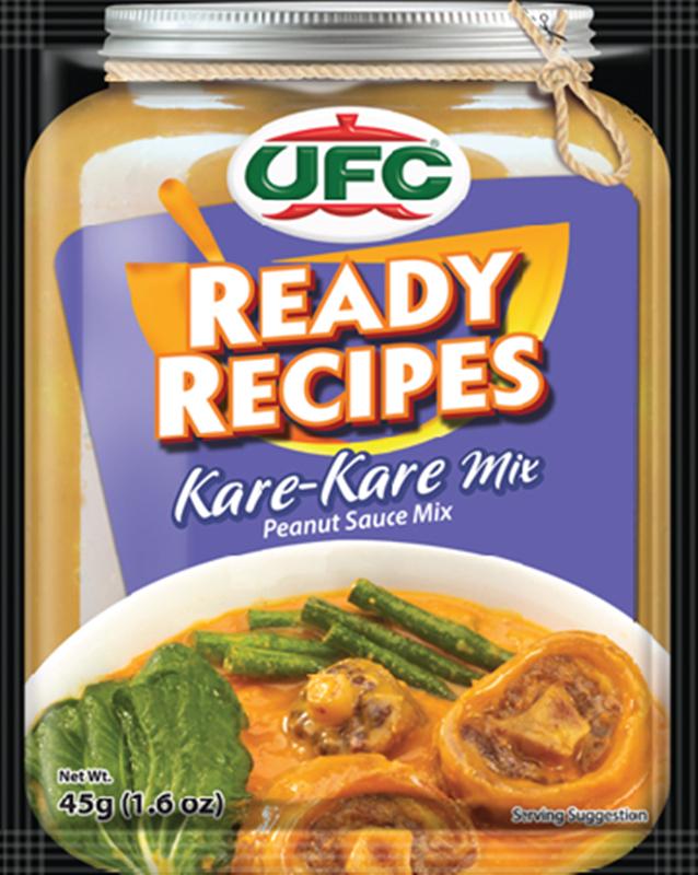 NutriAsia - UFC Ready Recipes Kare Kare Mix 45g