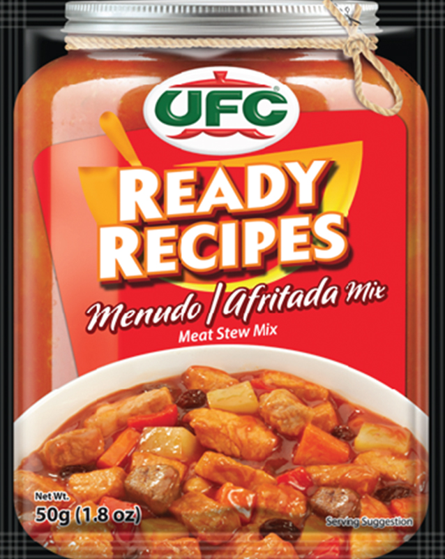 NutriAsia - UFC Ready Recipes Menudo/Afritada Mix 50g