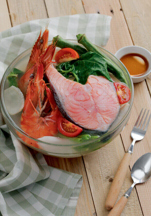 sea food sinigang