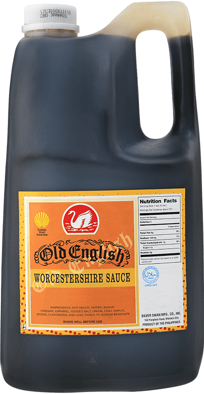 NutriAsia - Silver Swan Old English Worcestershire Sauce (Regular) 1 Gal