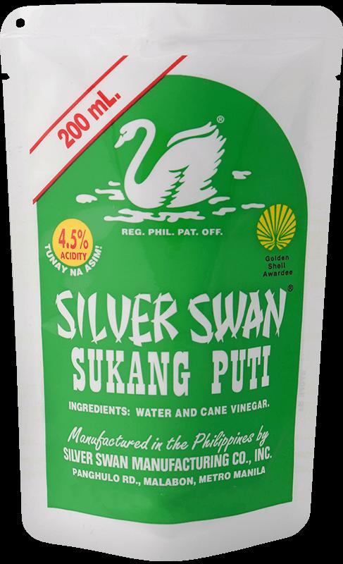 Silver Swan Sukang Puti 200mL