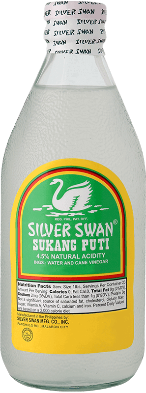 NutriAsia - Silver Swan Sukang Puti 350mL