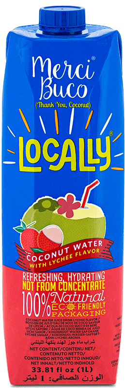 Locally Merci Buco Coconut Water