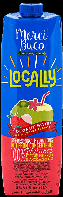 NutriAsia - Locally Merci Buco w/ Lychee Flavour 1L