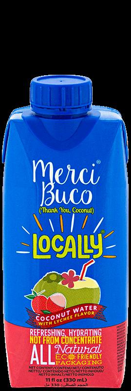 NutriAsia - Locally Merci Buco w/ Lychee Flavour 330mL