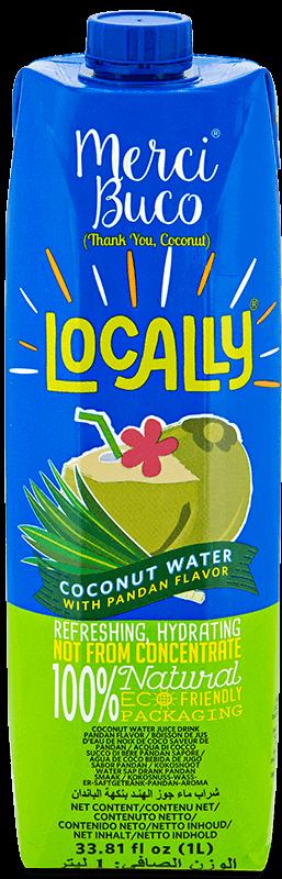 Locally Merci Buco Coconut Water