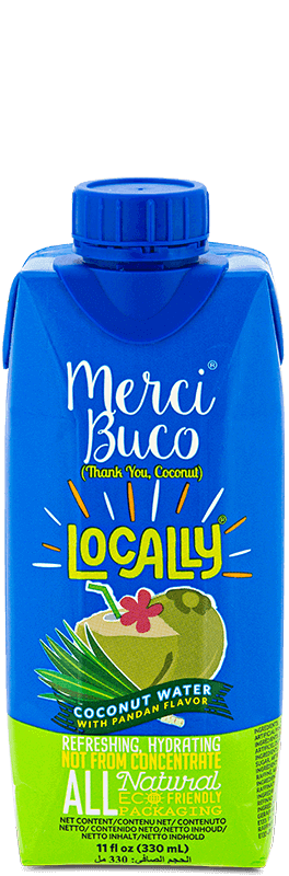 NutriAsia - Locally Merci Buco w/ Pandan Flavour 330mL