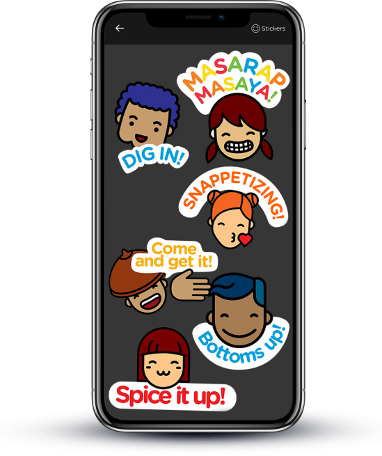 NutriAsia - Snappetize Stickers