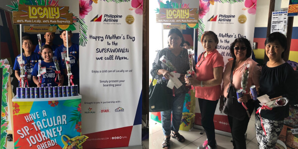 NutriAsia and PAL's treat for Mother's Day