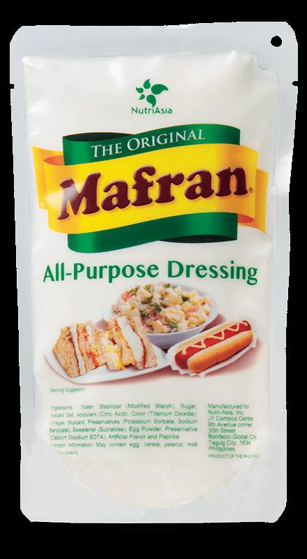 NutriAsia - Mafran White All Purpose Dressing 200g