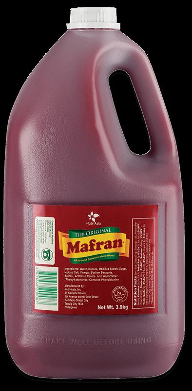 NutriAsia - Mafran Banana Ketchup 4kg
