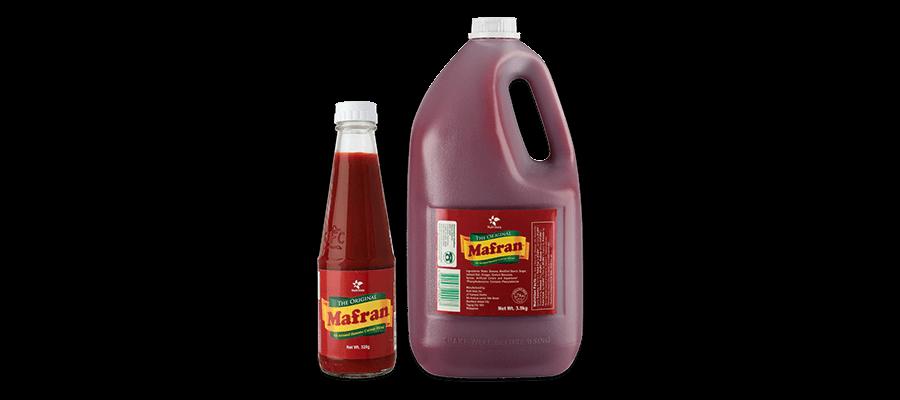 Mafran Banana Ketchup