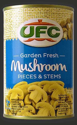 NutriAsia - UFC Pieces & Stems Mushroom 400g