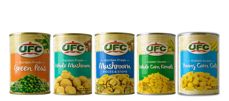 NutriAsia - UFC Canned Vegetables