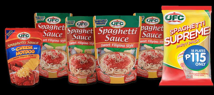 ufc spaghetti sauce