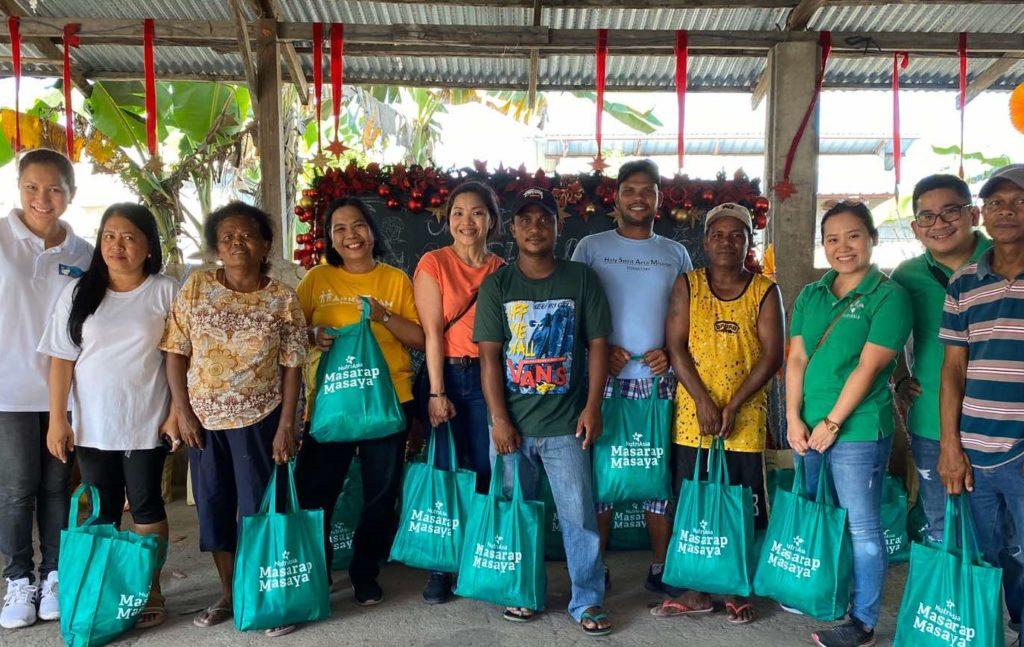 NutriAsia Marketing Team with Indigenous Aeta of Capas,Tarlac